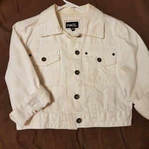 Off White Denim Jacket